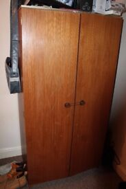 Free wood wardrobe in New Basford area