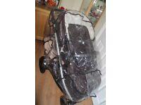 Britax B-Dual Double Pushchair