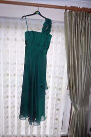 Long Evening Dress. Size 10. Debenham - Debut New (Never Worn) Bought £100 will accept £30