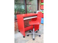 Red Ikea office chair