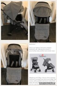 Lovely silver cross Avia pushchair in fab condition