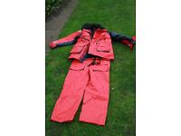 Flotation suit/Bouyancy suit, Sailing /fishing.