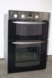 Indesit Built-in Double Oven/Cooker Digital Display Good Condition 12 Month Warranty