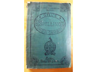Vintage (post WWI?) Gill's Oxford & Cambridge Spelling Manual. 'Rag'? cover. £3.50 ovno
