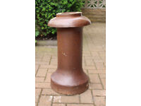 large chimney pots, two for sale