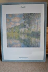 MONET LIMITED EDITION PRINT - NUMBERED 11/148 - PEUPLIERS SUR L'EPTE VERY NICE CONDITION