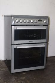 Hotpoint 60cm Ceramic Top Cooker/Oven Digital Display Excellent Condition 12 Month Warranty