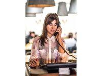 Restaurant Receptionist- Hubbard & Bell