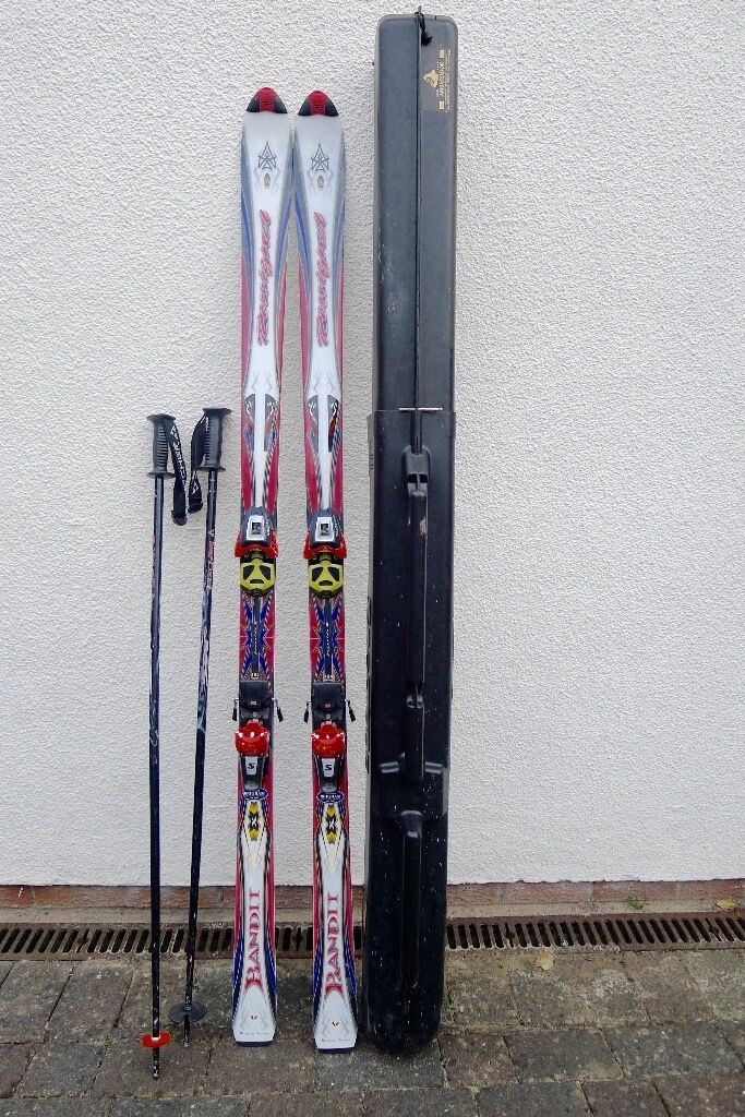 Skis rossignol bandit carving with salomon s