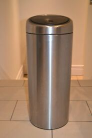 Brabantia brushed stainless steel 30l touch bin