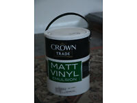 2x Crown paints and emulsions