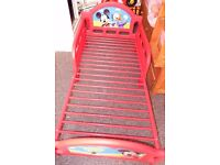 Children Toddler Cot Bed Junior Character Disney Mickey 18 mnhts to 4 years