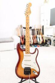 1983 Fender Dan Smith Stratocaster in Sienna Burst