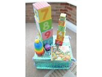 COLLECTION OF COUNTING TO 10 LEARNING TOYS, ELC, FISHER PRICE, WAYBULOO EXCELLENT CONDITION
