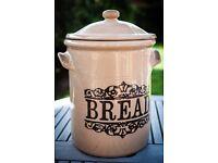 Vintage Stoneware Bread Crock