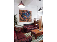Large and Bright Desk Space - Creative Studio Building - London Fields - Hackney