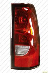 Tail Lamp Passenger Side [2007 Old Style Model] High Quality Chevrolet Silverado