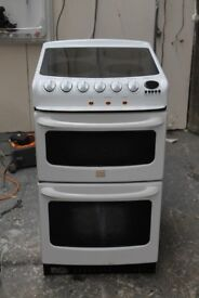 6 MONTHS WARRANTY Hotpoint Creda 50cm, double oven electric cooker FREE DELIVERY