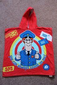 Postman Pat Poncho Towel