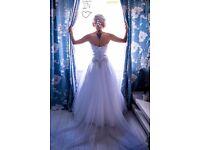 beautiful wedding dress size 8-12