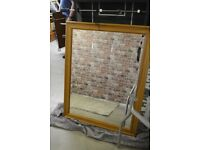 Extra Large solid frame Mirror £20