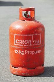 Calor Gas: 13kg Propane (empty).