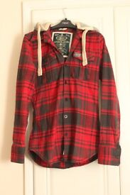 SUPERDRY lumberjack woman's hoodie - Size Small (UK 8-10) - £20. Good condition!