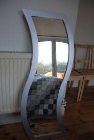 Full length, grey mirror