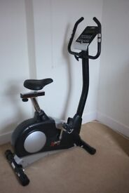 DKN AM-E Exercise Bike little used and in perfect working order and with instruction booklet