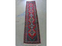 Hand knotted persian rug (runner) from northwest Iran 313cm X 75cm £245