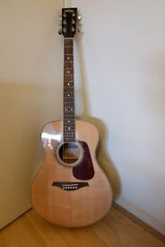 Vintage V300 Guitar - Natural Acoustic