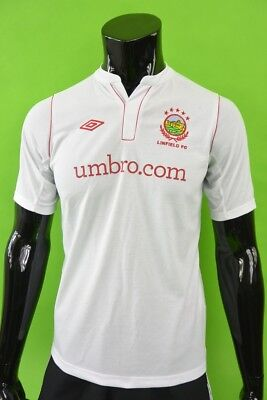 2012-13 Umbro LINFIELD FC Football Away Shirt Jersey Youth XL.BOYS /XS adullts image