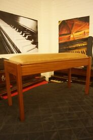 John Austin duet open top piano bench