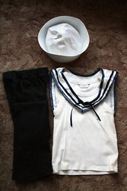Sailors Dance outfit suit 5-6 years