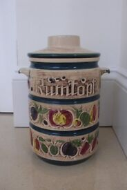 Vintage German Rumtopf for preserving fruits