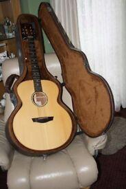 faith jupiter 6 string guitar