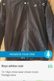 ADIDAS boys coat