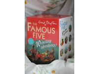 Enid Blyton- The Famous Five- 10 Exciting Adventures Books