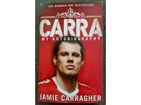 JAMIE CARRAGHER CARRAGHER AUTOBIOGRAPHY