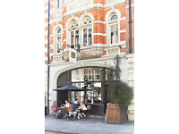 Experienced CDP required for award winning restaurant in Marylebone Village