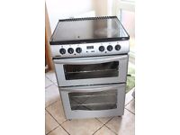 6 MONTHS WARRANTY New World 60cm, double oven electric cooker FREE DELIVERY