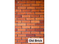 Brick slips wall cladding tiles