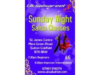 Sutton Coldfield Salsa Classes for Beginners