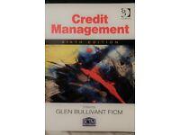 Credit Management Book ( Glen Bullivant 6th edition ) + Free Study Text