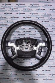 FORD S-MAX GALAXY MONDEO STEERING WHEEL WITH CRUISE CONTROL 2010-2015 WK64