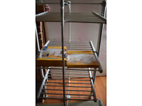 Lakeland Dry Soon 3 Tier Heated Airer with Cover and Shelf
