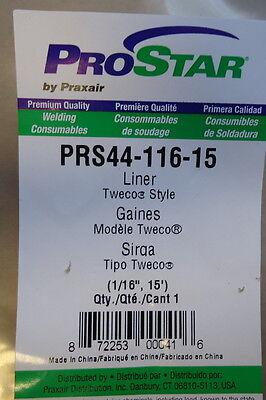 Lot Of 3 Prostar Welding Liners Tweco Style 116 15 44-116-15 Praxair
