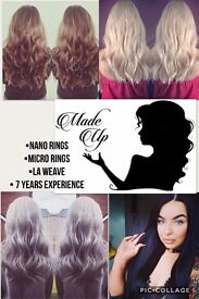 ***HAIR EXTENSION EXPERTS *** NANO RINGS *** LA WEAVE *** MICRO RINGS***