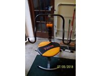 As new Abdoer Twist exerciser with manual and DVD.