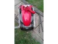 New Flymo Visimo 1200 watt lawnmower for sale, ( no box )